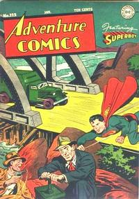 Cover Thumbnail for Adventure Comics (DC, 1938 series) #112