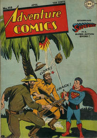 Cover Thumbnail for Adventure Comics (DC, 1938 series) #115