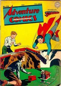 Cover Thumbnail for Adventure Comics (DC, 1938 series) #116