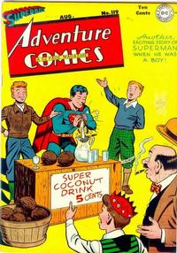 Cover Thumbnail for Adventure Comics (DC, 1938 series) #119