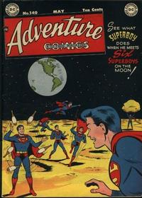 Cover Thumbnail for Adventure Comics (DC, 1938 series) #140