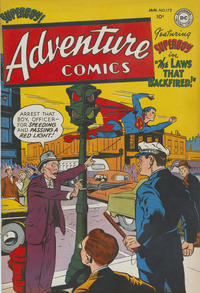 Cover Thumbnail for Adventure Comics (DC, 1938 series) #172