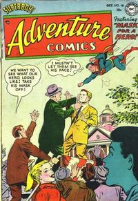Cover Thumbnail for Adventure Comics (DC, 1938 series) #181