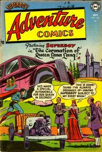 Cover Thumbnail for Adventure Comics (DC, 1938 series) #192