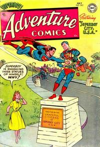 Cover Thumbnail for Adventure Comics (DC, 1938 series) #202