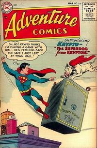 Cover Thumbnail for Adventure Comics (DC, 1938 series) #210