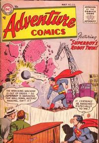 Cover Thumbnail for Adventure Comics (DC, 1938 series) #212