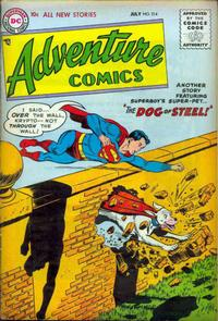 Cover Thumbnail for Adventure Comics (DC, 1938 series) #214