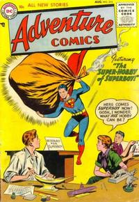 Cover Thumbnail for Adventure Comics (DC, 1938 series) #215