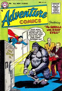 Cover Thumbnail for Adventure Comics (DC, 1938 series) #219