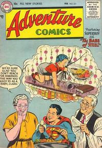 Cover Thumbnail for Adventure Comics (DC, 1938 series) #221