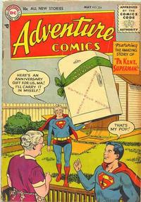 Cover Thumbnail for Adventure Comics (DC, 1938 series) #224
