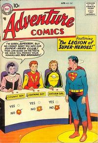 Cover Thumbnail for Adventure Comics (DC, 1938 series) #247