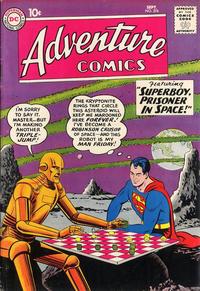 Cover Thumbnail for Adventure Comics (DC, 1938 series) #276