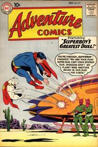 Cover Thumbnail for Adventure Comics (DC, 1938 series) #277