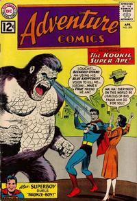 Cover Thumbnail for Adventure Comics (DC, 1938 series) #295