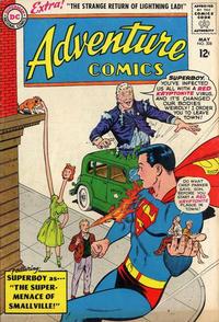 Cover Thumbnail for Adventure Comics (DC, 1938 series) #308