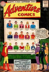 Cover Thumbnail for Adventure Comics (DC, 1938 series) #311