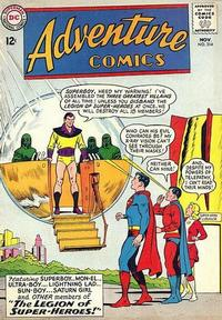 Cover Thumbnail for Adventure Comics (DC, 1938 series) #314