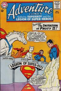 Cover Thumbnail for Adventure Comics (DC, 1938 series) #322