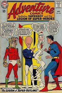 Cover Thumbnail for Adventure Comics (DC, 1938 series) #324