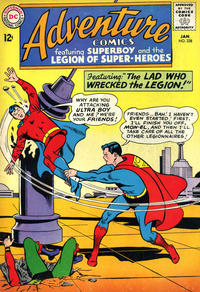 Cover for Adventure Comics (DC, 1938 series) #328