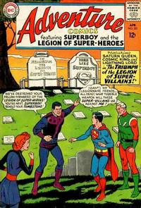Cover Thumbnail for Adventure Comics (DC, 1938 series) #331