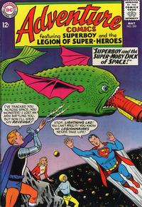 Cover Thumbnail for Adventure Comics (DC, 1938 series) #332