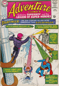 Cover Thumbnail for Adventure Comics (DC, 1938 series) #335