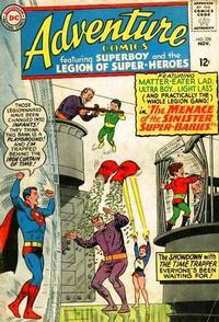 Cover Thumbnail for Adventure Comics (DC, 1938 series) #338
