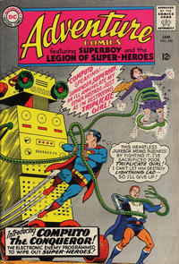 Cover Thumbnail for Adventure Comics (DC, 1938 series) #340