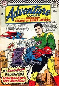 Cover Thumbnail for Adventure Comics (DC, 1938 series) #341