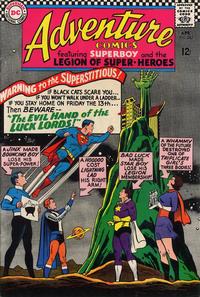 Cover Thumbnail for Adventure Comics (DC, 1938 series) #343