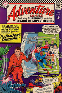 Cover Thumbnail for Adventure Comics (DC, 1938 series) #347