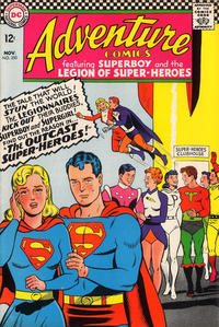 Cover Thumbnail for Adventure Comics (DC, 1938 series) #350