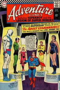 Cover Thumbnail for Adventure Comics (DC, 1938 series) #354