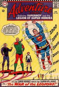 Cover Thumbnail for Adventure Comics (DC, 1938 series) #355