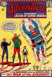 Cover Thumbnail for Adventure Comics (DC, 1938 series) #355