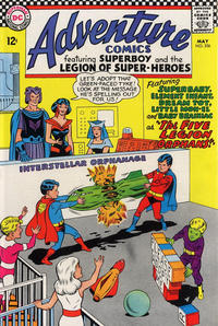 Cover Thumbnail for Adventure Comics (DC, 1938 series) #356