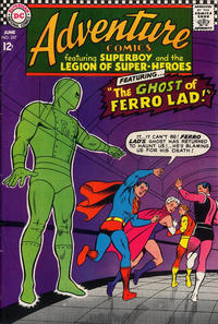 Cover for Adventure Comics (DC, 1938 series) #357