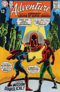 Cover for Adventure Comics (DC, 1938 series) #374