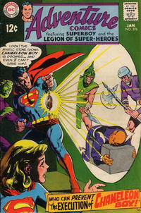 Cover Thumbnail for Adventure Comics (DC, 1938 series) #376