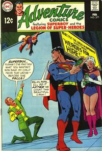Cover Thumbnail for Adventure Comics (DC, 1938 series) #377