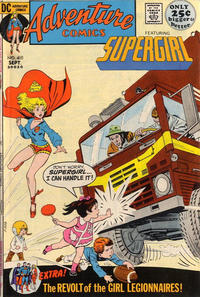 Cover for Adventure Comics (DC, 1938 series) #410