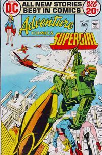 Cover Thumbnail for Adventure Comics (DC, 1938 series) #422