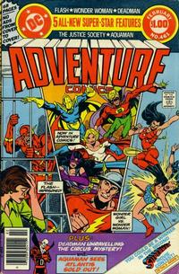 Cover Thumbnail for Adventure Comics (DC, 1938 series) #461