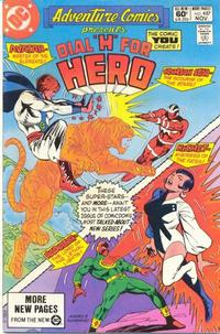 Cover Thumbnail for Adventure Comics (DC, 1938 series) #487 [Direct Sales]