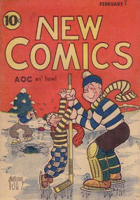 Cover Thumbnail for New Comics (DC, 1935 series) #v1#3