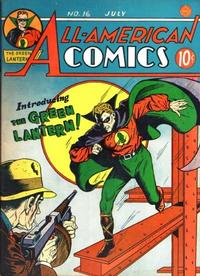 Cover Thumbnail for All-American Comics (DC, 1939 series) #16