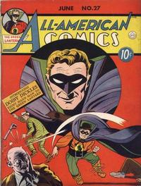 Cover Thumbnail for All-American Comics (DC, 1939 series) #27